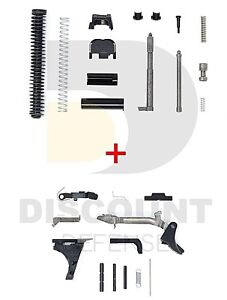 Details about For Glock Upper Slide & Lower Parts Kits Glock 19 Gen3  Genuine Factory Parts 9mm