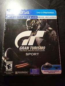 NEW-amp-SEALED-PS4-Gran-Turismo-Sport-Limited-Edition-Steelbook-SHIPS-FAST