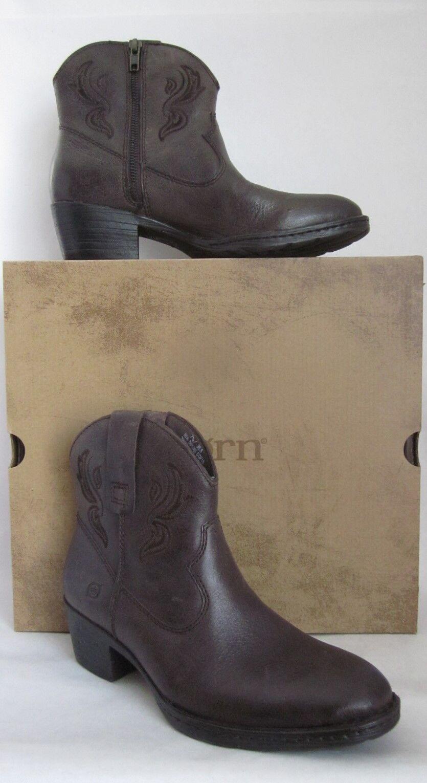Born Riven Ebony (Brown) Western Cowboy Boots - SIZE 7.5