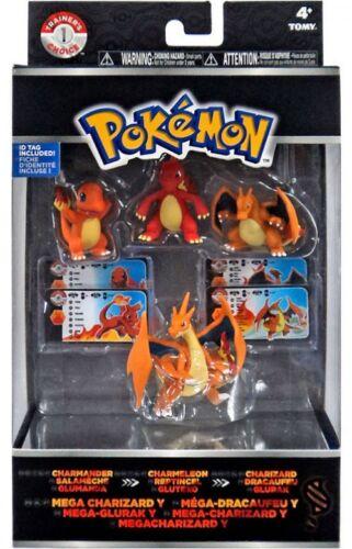 Boxed Pokemon XY Mini Figure Evolution 4-Pack