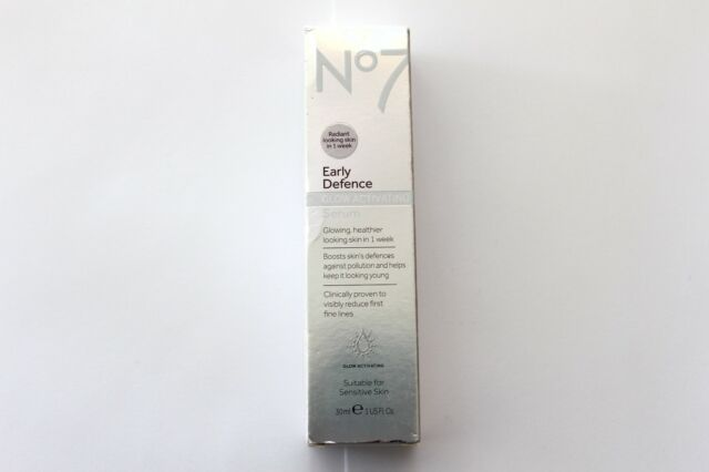 No7 Early Defence Glow Activating Serum - Suitable For Sensitive Skin - 30ml