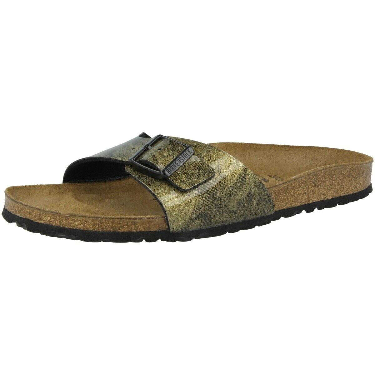 Birkenstock Madrid Birko-Flor Schuhe Sandale Pantoletten Weite schmal 1011175