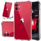Hybrid Thin Clear TPU Case for iPhone 11 Pro Max to 6 (all sizes)