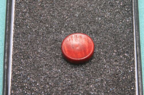 Large concav Blood wood Soft Release Button for Fujifilm and Leica