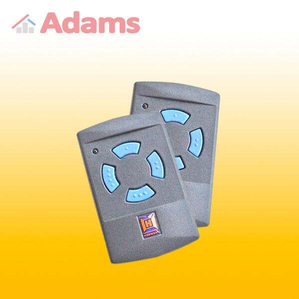 2x Hormann HSM4 868 Mhz Handsender Blaue Tasten by ADAMS