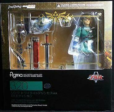 Figma 320The Legend of Zelda LINK Twilight Princess Ver DX Edition Figure IN box