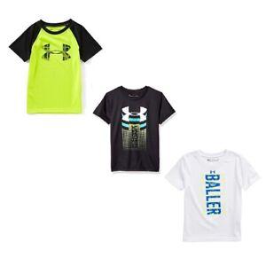 7 6 5 Sizes 4 Under Armour Heatgear Boys/' T-shirt