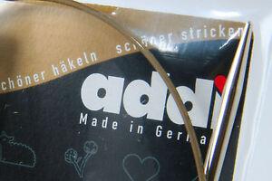 Choose ANY 2 Pairs addi Premium Circular Knitting Needles 40cm or 60cm or 80cm