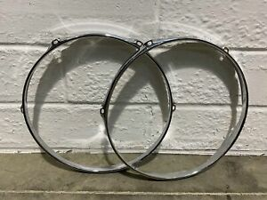 "Tom Drum 13"" 6 Lug Hoops Rims Hardware Tension #HO013"