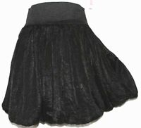 L Cute Black Puffy Cosplay Emo Gothic Goth Lolita Steam Punk Bubble Mini Skirt