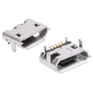 Micro-USB-Buchse-Typ-3-Einbaubuchse-Printmontage-Lotmontage-Einbau-Buchse-SMD
