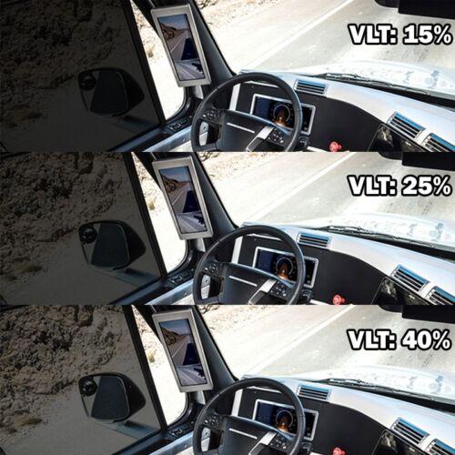 "VLT 25/% 20/"" 60/"" 5 FEET Office Commercial Car Home Uncut Roll Tint Window Film U1"