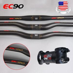 EC90-MTB-Handlebar-25-4-31-8-660-760-Carbon-Mountain-Bike-Bicycle-Flat-Riser-Bar
