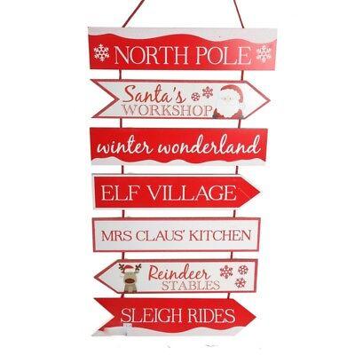 weihnachtsmann nordpol gro holz aufh ngung weihnachten. Black Bedroom Furniture Sets. Home Design Ideas