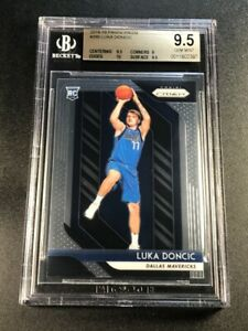 LUKA-DONCIC-2018-PANINI-PRIZM-280-ROOKIE-RC-BGS-9-5-10-DALLAS-MAVERICKS-NBA-A