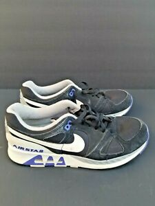 03c00be839fa0 Details about Nike Air Stab Men's Running Shoes Black Persian Violet Purple  White 312451 005