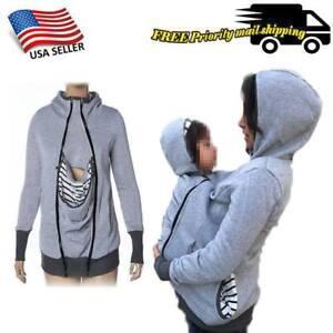 Babywearing Jacket Carrier,Kangar<wbr/>oo coat for MOM and BABY. Maternity Jacket