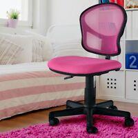 Pc Computer Kinder Mädchen Dreh Stuhl Hocker Chef Sessel Schreibtisch Büro Pink