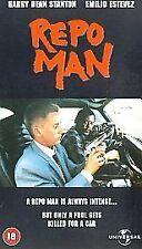 Repo Man [VHS], Acceptable VHS, Eddie Velez, Del Zamora, Tom Fin, Alex Cox