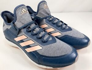 Details about adidas Fabela X Boost Field Hockey Shoes AC8788 Women's Size 12 Blue/Grey Pink