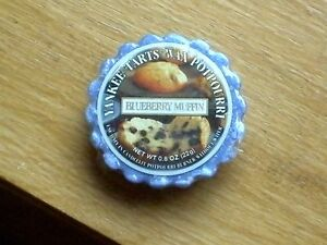 YANKEE-CANDLE-RETIRED-USA-EXCLUSIVE-034-BLUEBERRY-MUFFIN-034-WAX-TART-MELT