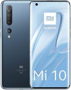 """Xiaomi Mi 10 5G 256GB+8GB RAM 6.67"""" 108 Mpx 4780mAh Twilight Gray Smartphone"""