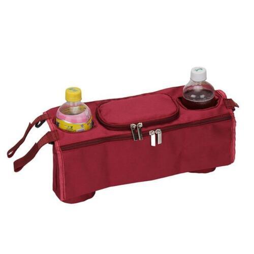Pram//Pushchair//Stroller//Buggy Cup//Bottle//Drink//Food Holder Storage Bag Organiser