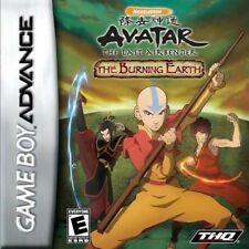 Avatar: The Last Airbender -- The Burning Earth - Game Boy Advance GBA Game