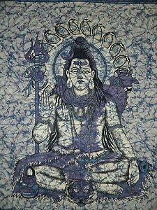 Couverture-indienne-Tenture-Shiva-bleu-230x210cm