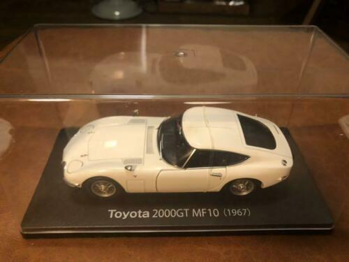 Domestic Famous Car Collection 1//24 Toyota 2000GT With Collection Cover
