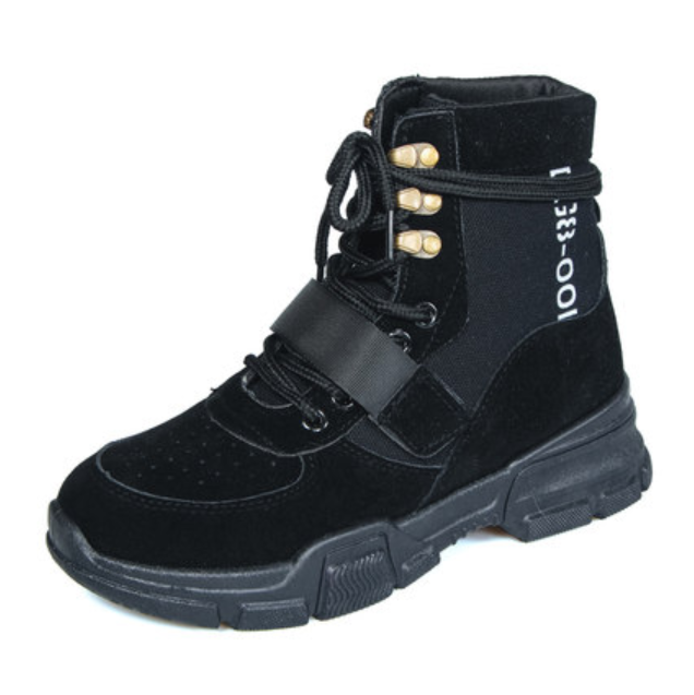Womens High Top Low Heels Lace Up Up Up Round Toe Rivet Buckle Retro Style Boots C631 25bf0b