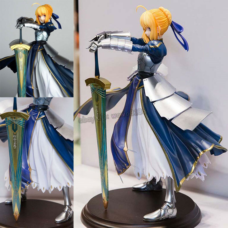 High-Q Resin Anime Figure Model Kit fate saber Garage Kit Statue Unpainted 25CM