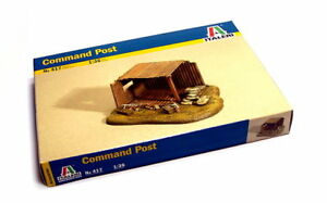 ITALERI-Military-Model-1-35-Accessories-Command-Post-Scale-Hobby-417-T0417