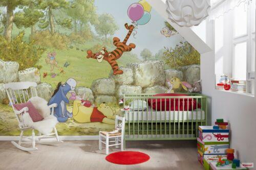 Géant Papier Peint Papier Peint Winnie the Pooh Disney chlildrens Room Decor Nursery
