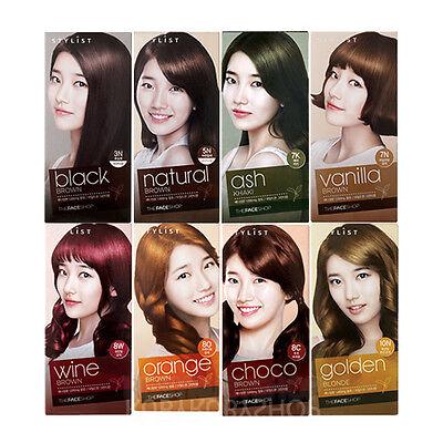 [THE FACE SHOP] Stylist Silky Hair Color Cream