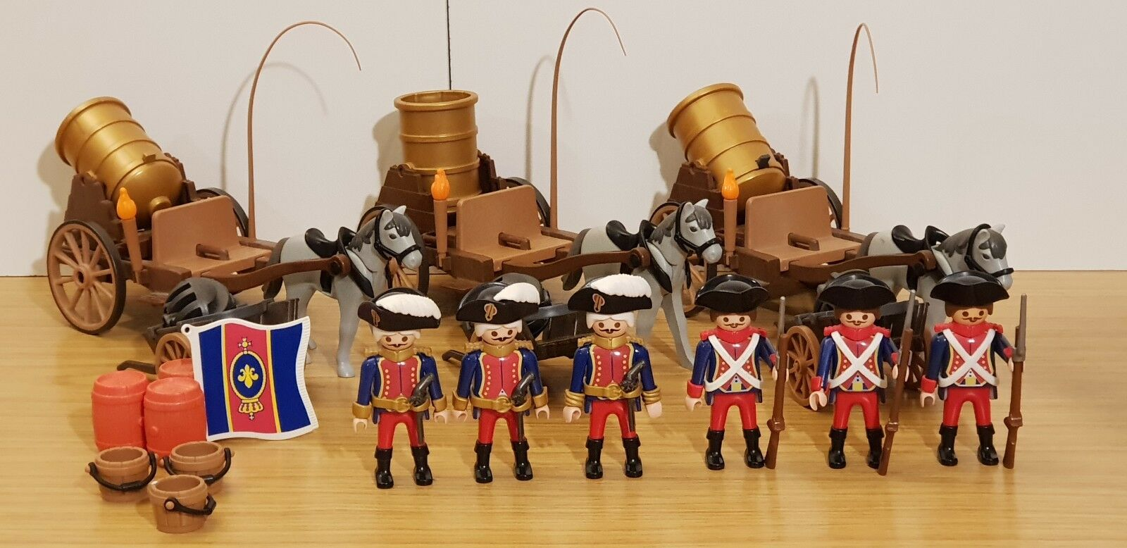 Playmobil French  Soldiers with cannon
