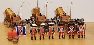 Playmobil soldats français avec canon