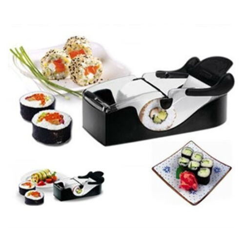 DIY Sushi Roller Cutter Perfect Machine Roll Maker Magic Kitchen Tool Gadgets