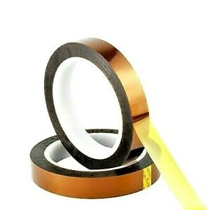5pcs 25mm x 36yds Kapton® Polyimide High Heat Tape Manufactured//Sold In The USA