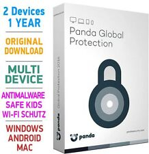 PANDA Global Protection 2017 2 Geräte PC MultiDevice 1 Jahr Android Mac TOP!!!