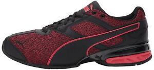 Puma-MEN-039-S-Tazon-6-FM-CROSS-Trainer-scarpa-puma-BLACK-TOREADOR-Taglia-11-5-Cg0j
