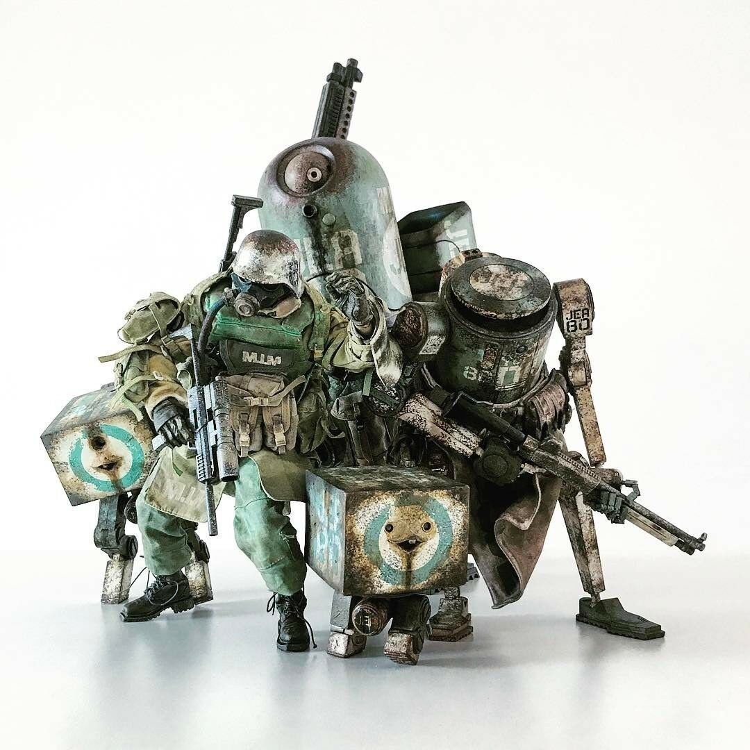 ThreeA - World War Robot - M.I.M Jea Assault Crew - 1/6 Officiel