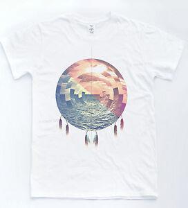 Dreamcatcher-OCEAN-T-Shirt-Tumblr-Hipster-Vintage-Indie-Retro-T-shirt-Unisexe-Haut