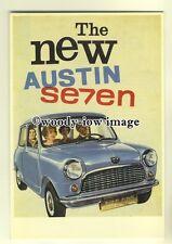 ad0124 - Austin Seven Mini Car - modern advert postcard