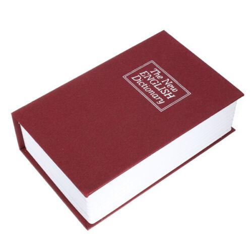 Schlüssel Geldkassette Buchsafe Buchattrappe Wörterbuch Tresor Geheimsafe Case