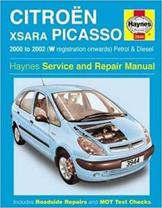haynes citroen xsara picasso 00 02 exclusive i owners service rh ebay co uk Citroen Xsara Picasso Specifications Citroen Xsara Picasso Specifications