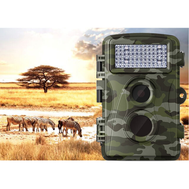720P IR Night Vision Hunting Scout Trail Camera Anti-water Wild Camera Trap 2017