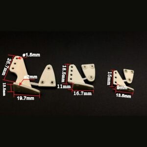 10-PCS-Universal-Triangle-Rudder-Rocker-Arm-For-RC-Airplane-Spare-Part-Aircraft