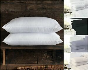 Pack-of-2-Pillows-Luxury-Bounce-Back-Hollow-Fibre-Filling-Pillow-Pair-Or-Cases