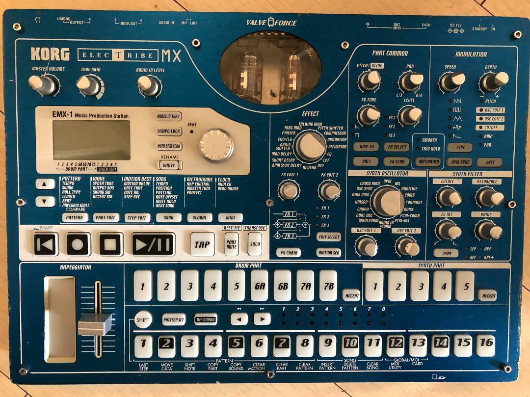 Korg Electribe EMX-1SD EMX Music Production Sampler Sequencer USED